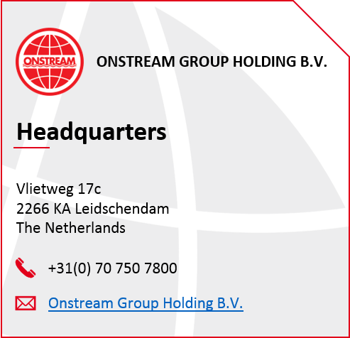 onstream group holding contact image