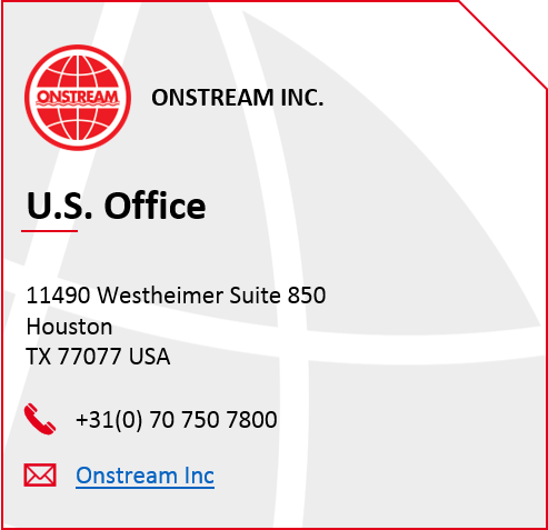 onstream USA contact image